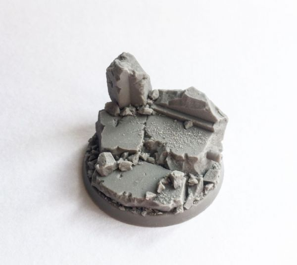 50mm Urban Rubble Character Base